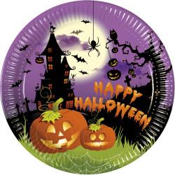 Tallrikar Spooky Happy Halloween