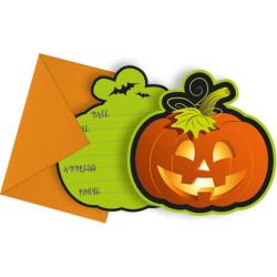 Inbjudningskort Happy Spooky Halloween