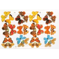 Bokmärken Fjärilar