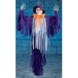 Lysande & spelande Spöke 1,5 m
