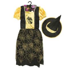 Maskeradklänning Gul