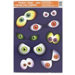 Fönsterdekoration Eyeball