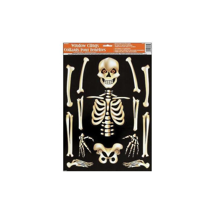Fönsterdekoration Skelettdelar