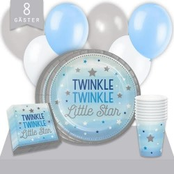 Kalaspaket Little Blue Star Enkel 8 pers