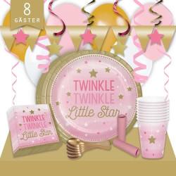 Kalaspaket Little Pink Star Lyx 8 pers
