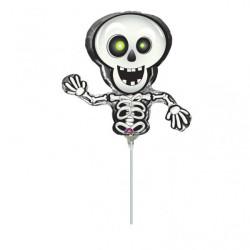 Miniballong Dansande Skelett