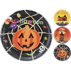 Halloweentallrikar Mix