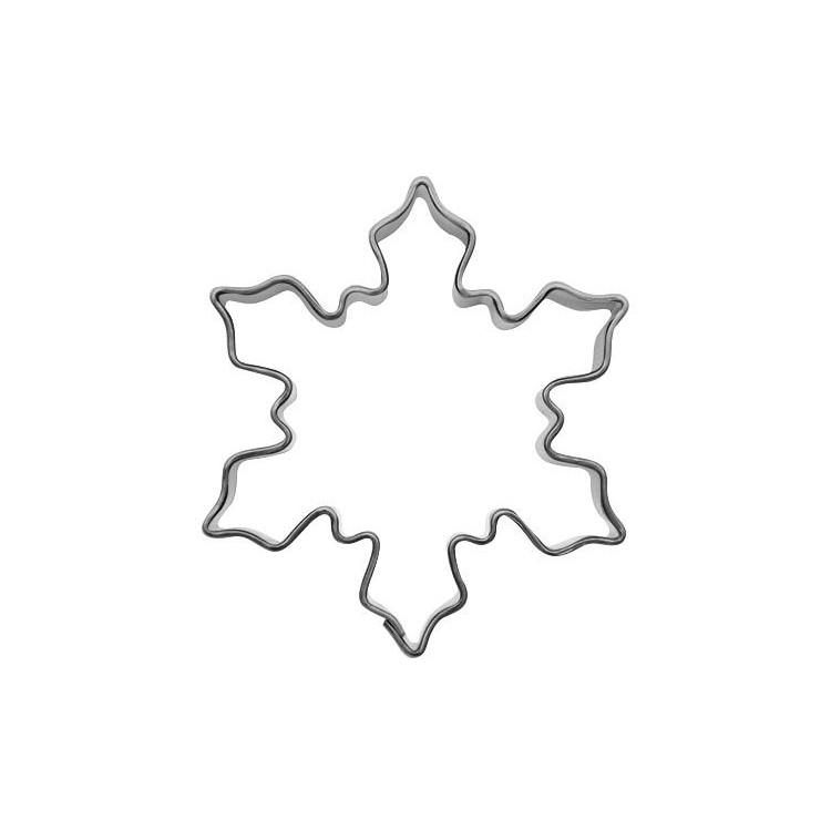 Kakform Snöflinga Liten