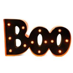 Ledskylt Boo