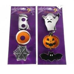 Halloween Kakformar 3 st