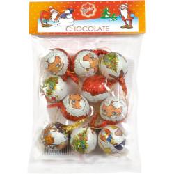 Chokladkulor med Julmotiv