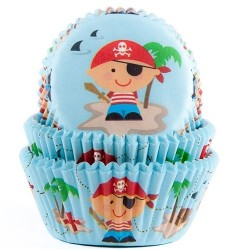 Muffinsformar Pirat