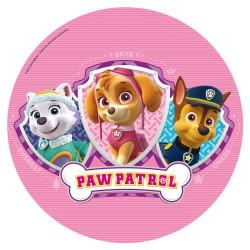 Tårtoblat Paw Patrol