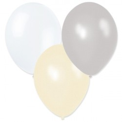 Ballonger Silver, Vit, Cream