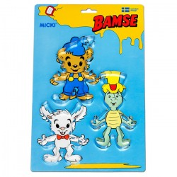 Bamse Kakformar 3 pack