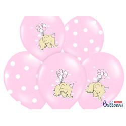 Ballonger Elefant Rosa