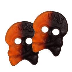 Godis Döskallar Orange/svart