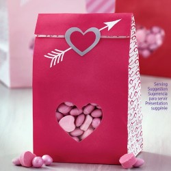 Kalaspåsar Hjärtan 6-pack