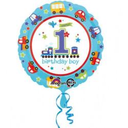 1 års Bilkalas Folieballong