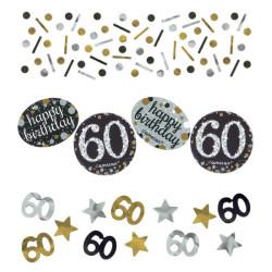 Konfetti 60 år Mix