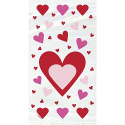 Cellofanpåsar Hjärta
