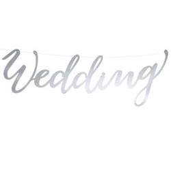 Bröllopsgirlang Love Silver