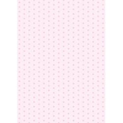 Presentpapper Ljusrosa Stjärnor