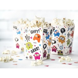 Popcornboxar Monsters 6-pack