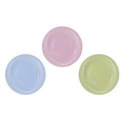 Assietter Pastell-mix
