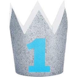 1 års hatt Krona Blå