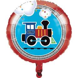 Folieballong Tågkalas