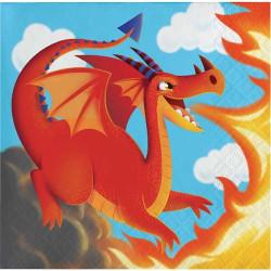 Kaffeservett Dragons