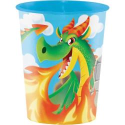 Hårdplastmugg Dragons