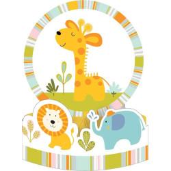 Bordsdekoration Babysafari