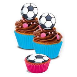 Muffinsbilder Fotbollar
