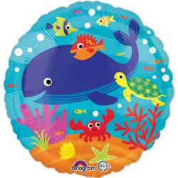 Folieballong Havets Djur