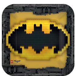 Batman Tallrik Fyrkantig
