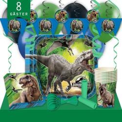 Kalaspaket Jurassic World Lyx 8 pers