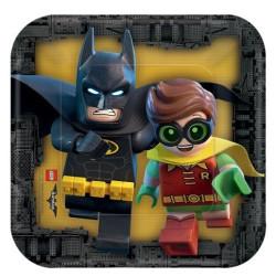 Lego Batman Assietter Fyrkantig