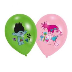 Trolls Ballonger Färgglada