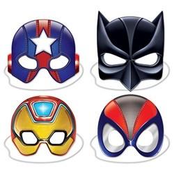Masker Superhjälte 4-pack