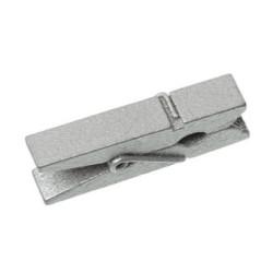 Miniklädnypor Silver 3,5 cm