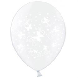 Ballonger Clear Fjärilar
