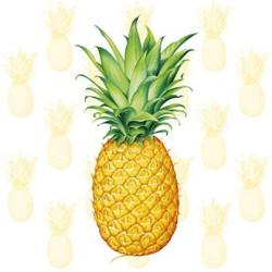 Kaffeservetter Tropisk Ananas