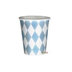 Muggar Harlequin Ljusblå 12-pack