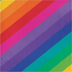Lunchservetter Rainbow