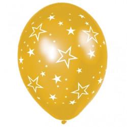 Ballonger Star Guld 25-pack