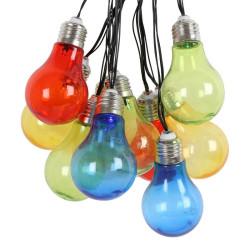 Belysninsslinga Färgglada lampor