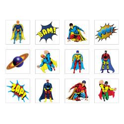 Tatueringar Superhjälte