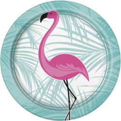Assietter Rosa Flamingo